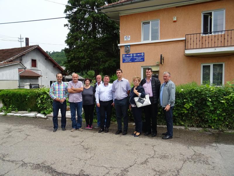 A doua întâlnire de lucru dintre oficialii orașelor Derecske (Ungaria) și Nucet