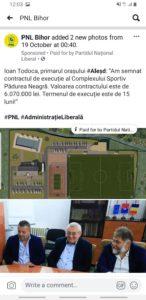 """PNL vrea să își asume investiția Consiliului Județean Bihor de la Complexul Sportiv """"Pădurea Neagră"""""""